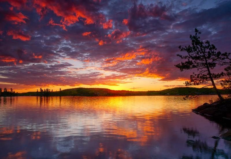 Saganaga Lake BWCAW 006