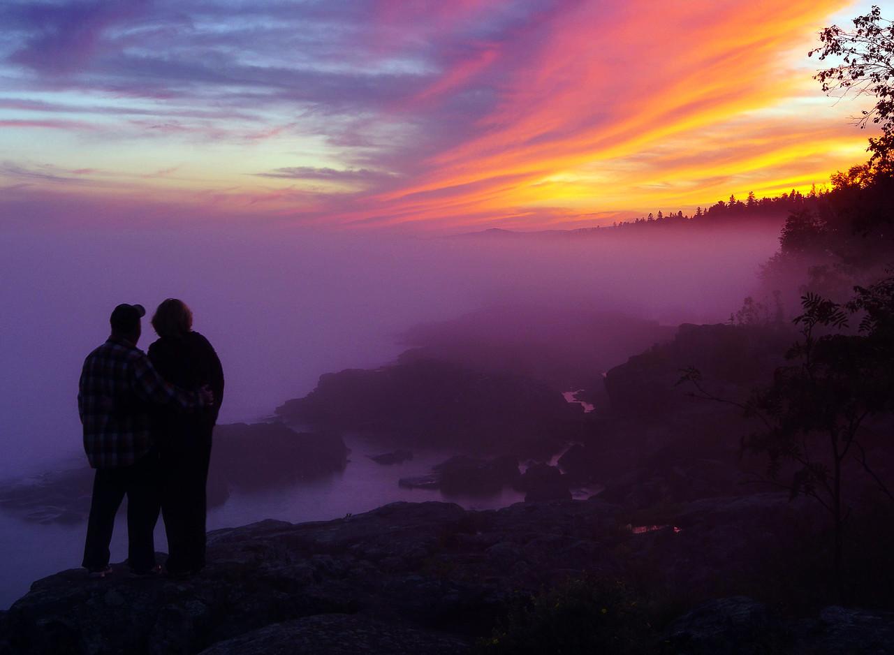 September Grand Marais Sunset 002