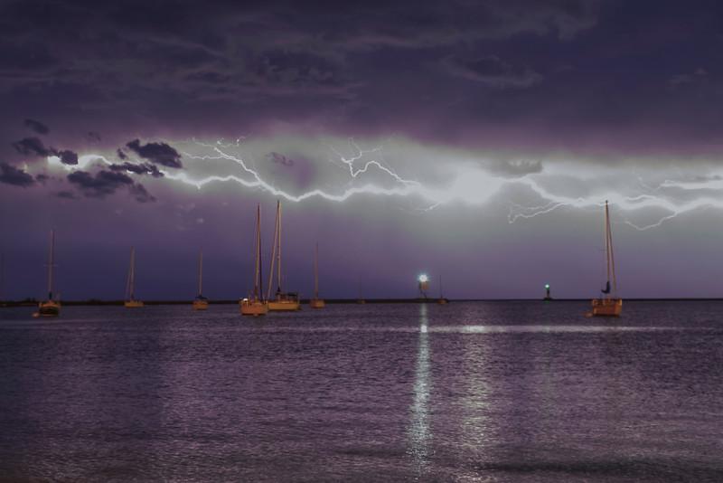 Storm over Grand Marais 003