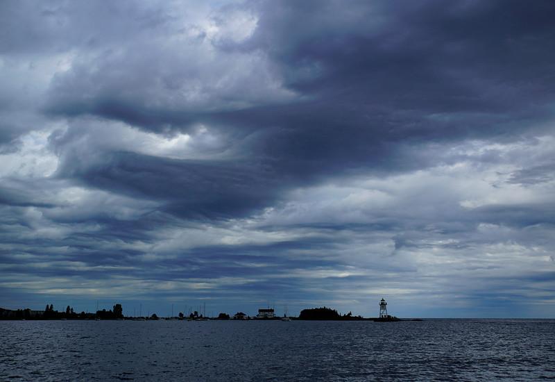 Storm over Grand Marais 001