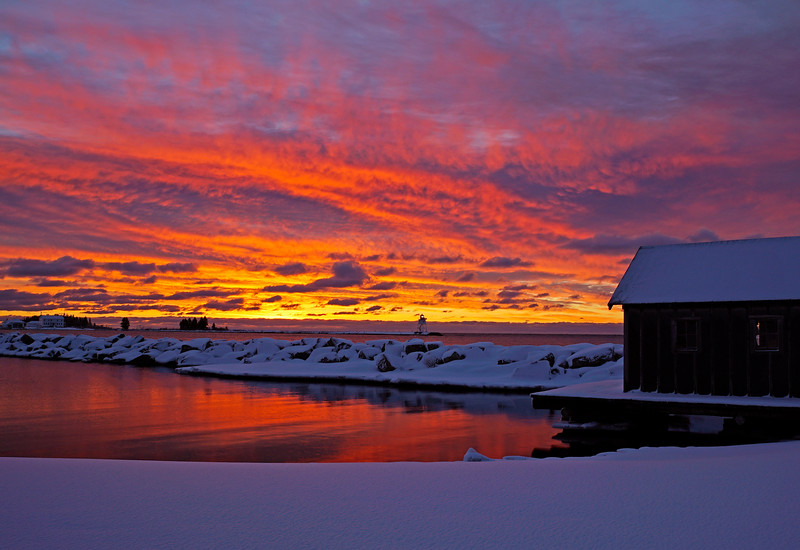 Grand Marais Sunrise