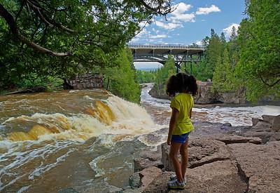Upper Gooseberry Falls 001