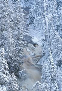 Hidden Falls Cascade River