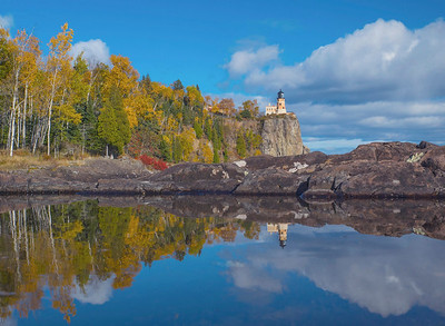 Split Rock Lighthouse Reflections