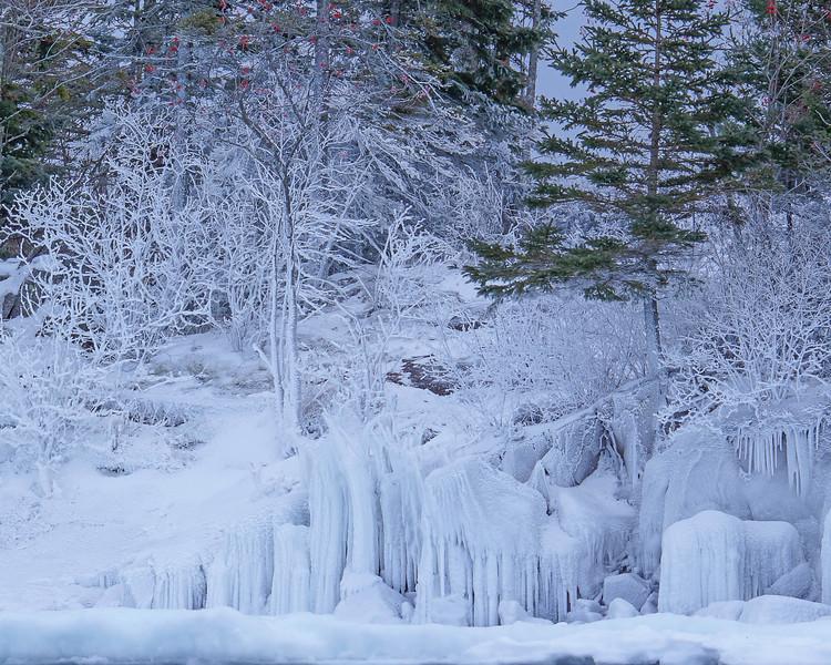 Lake Superior Shoreline Ice 001