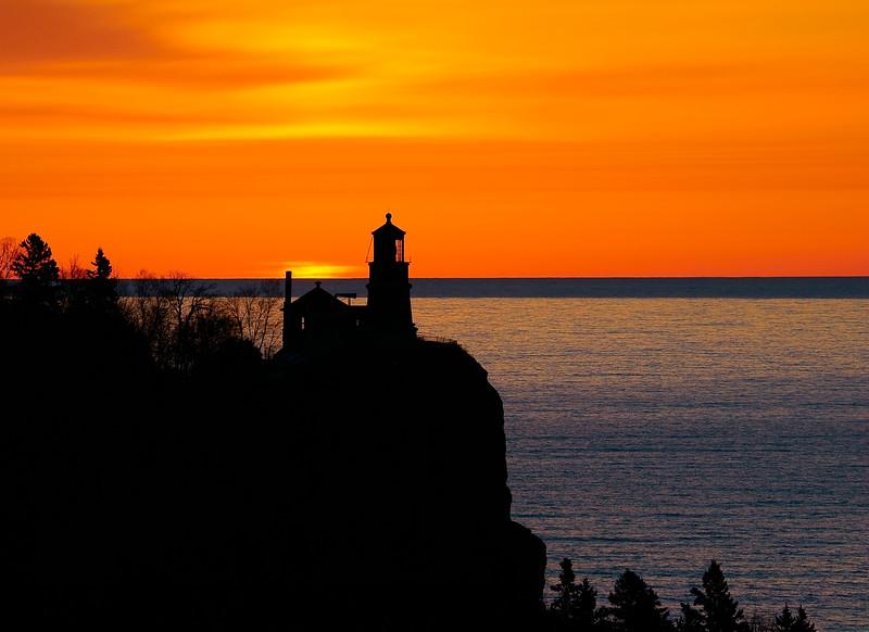 Split Rock Lighthouse Sunrise 002