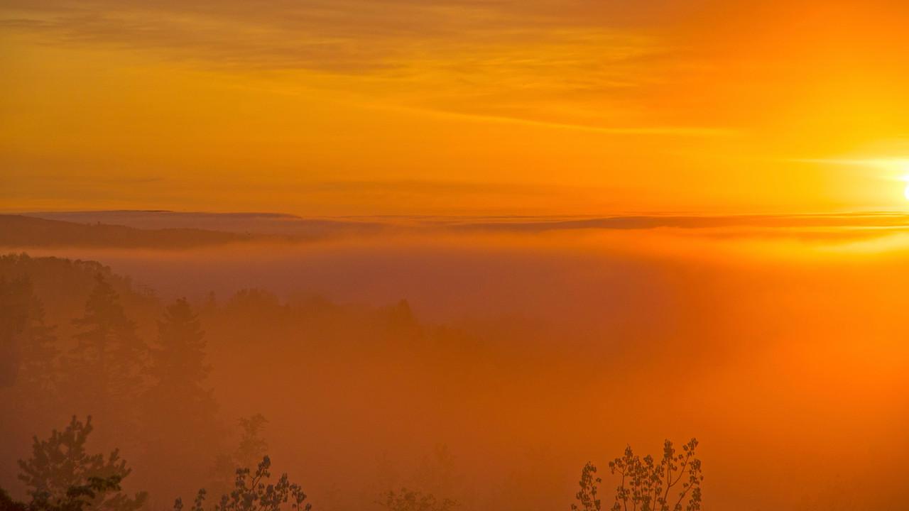 Sunrise Enger Park Duluth 002