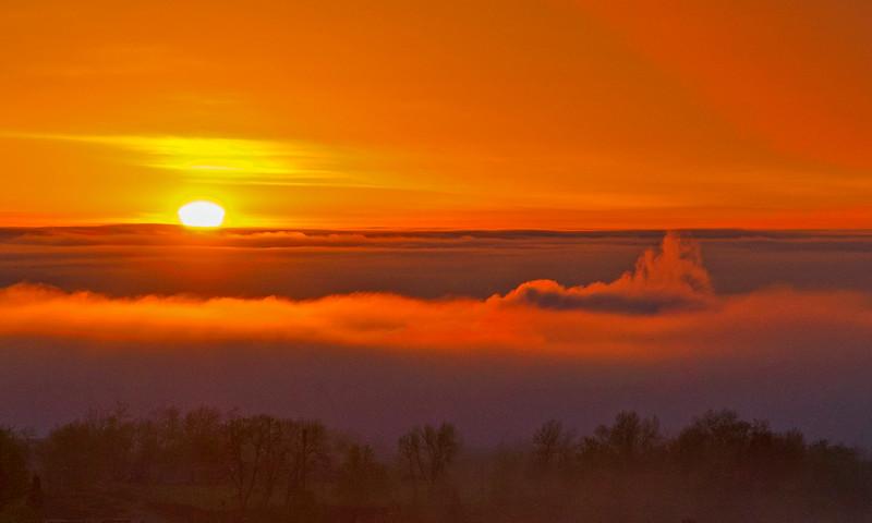 Sunrise Enger Park Duluth 001