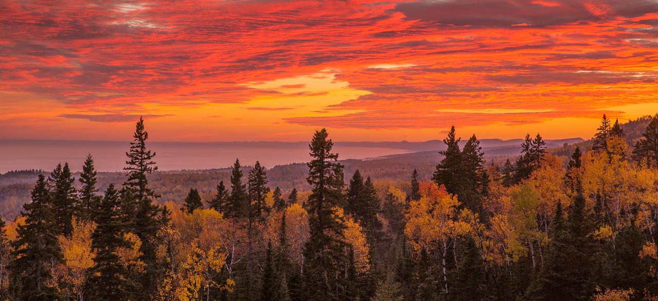 Sawtooth Mountain Sunset