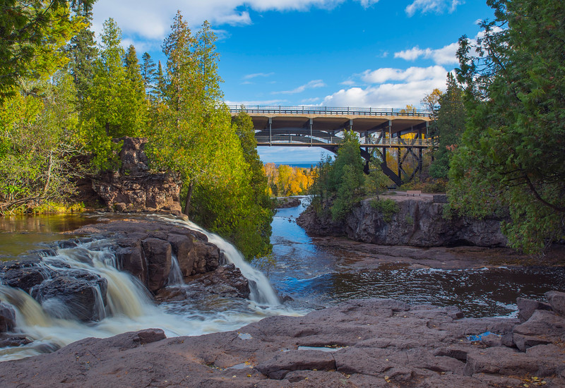 Gooseberry Falls State Park (Upper Falls)