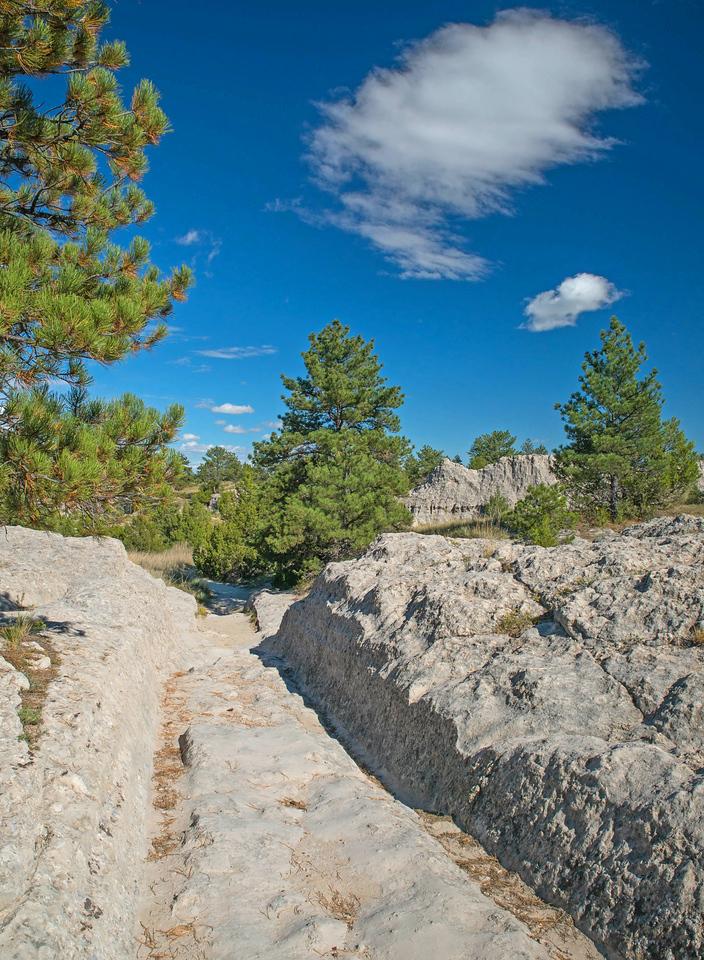 Oregon Trail Ruts Historic Site 002