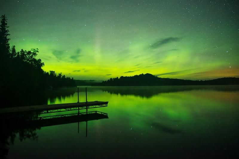 Caribou Lake Aurora 001
