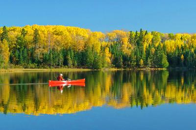 Fall Thompson Lake