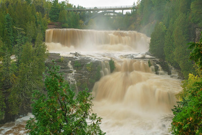 High Water Gooseberry Falls 001