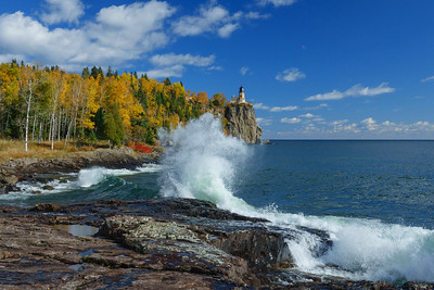 Split Rock Lighthouse State Park Fall