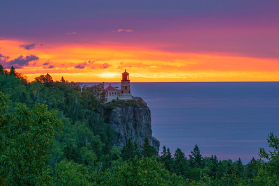 Split Rock Lighthouse Sunrise 002