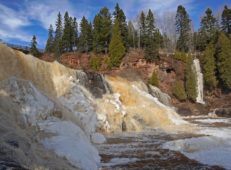Gooseberry Falls State Park Middle Falls