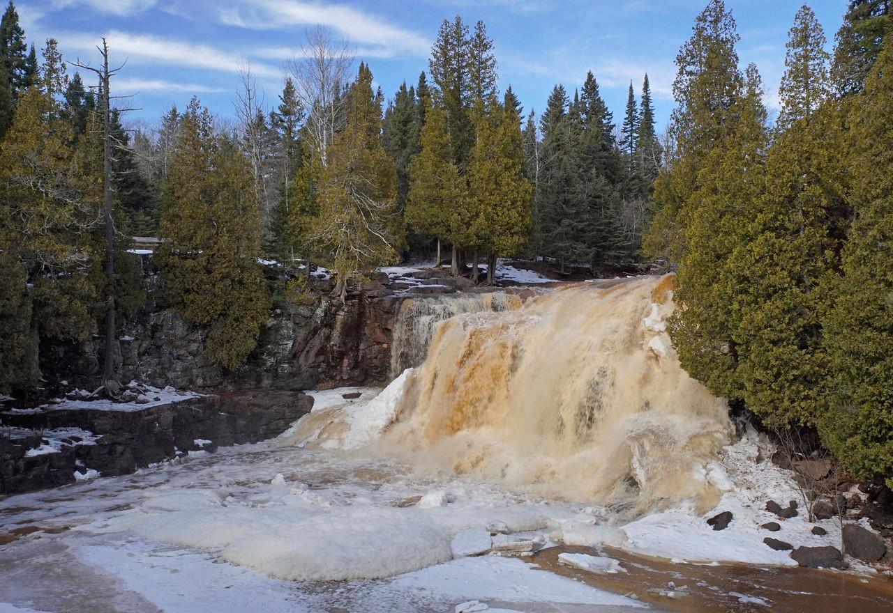 Gooseberry Falls State Park Upper Falls