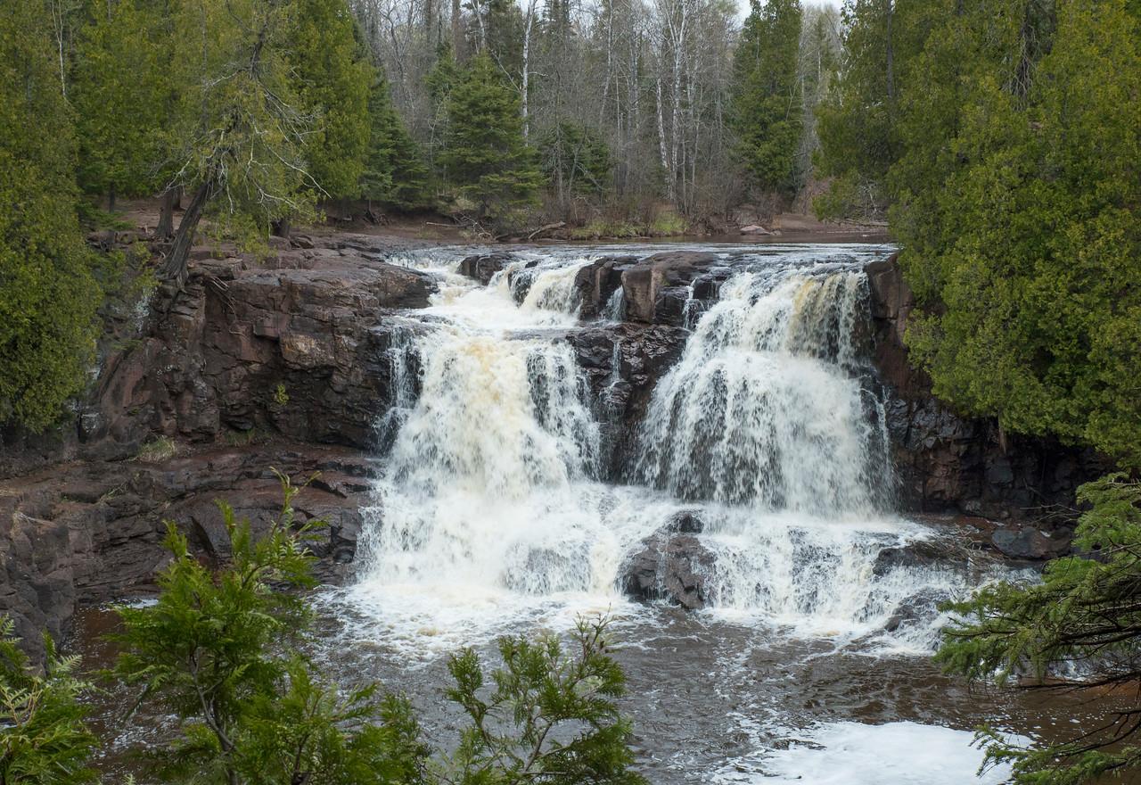 Upper Falls Gooseberry Falls State Park