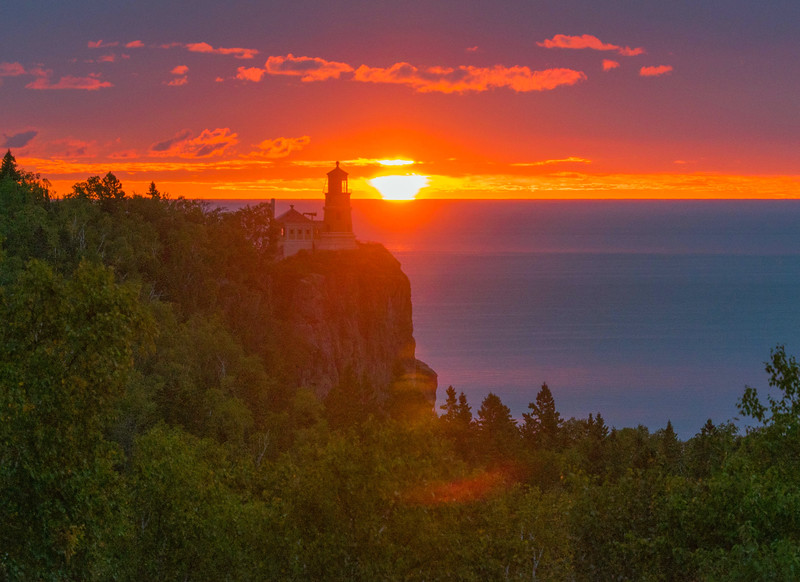 Split Rock Lighthouse Sunrise 004