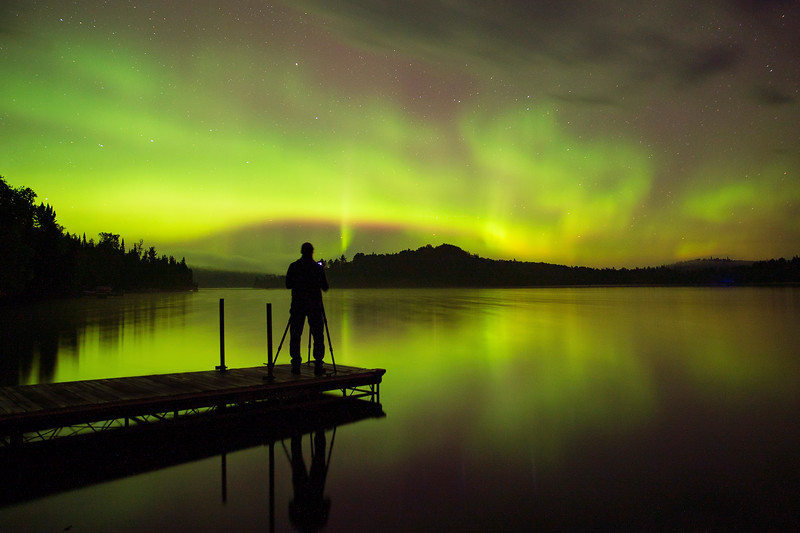 Caribou Lake Aurora 004