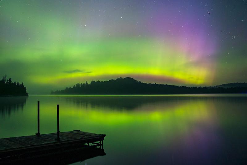Caribou Lake Aurora 008