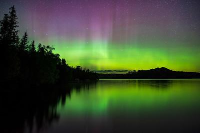 Caribou Lake Aurora