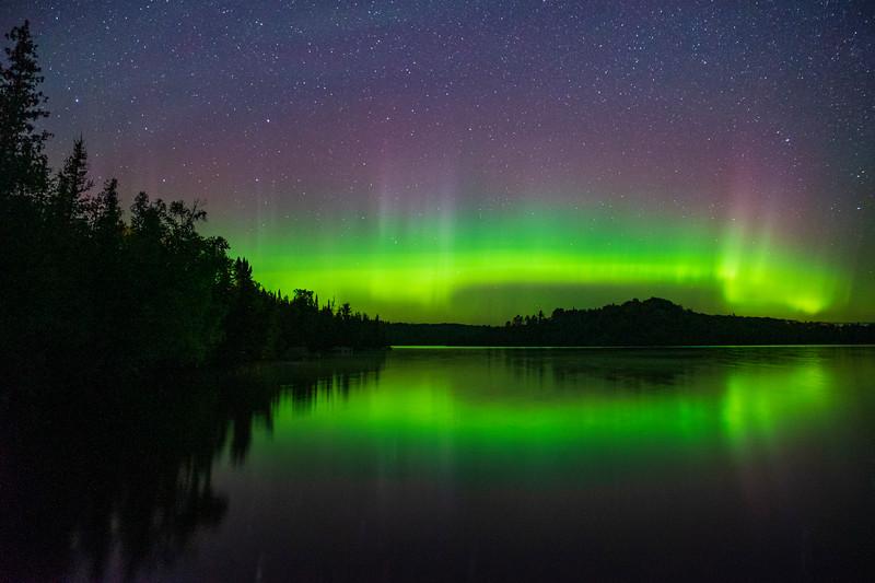 Caribou Lake Aurora 002