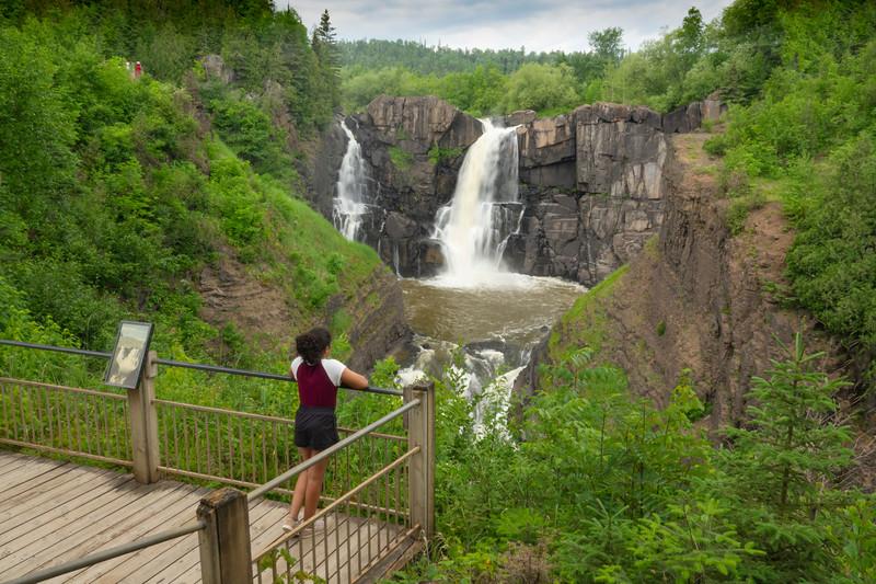 High Falls Grand Portage State Park 003