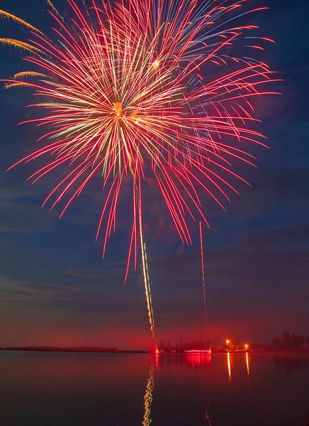 Grand Marais Fireworks