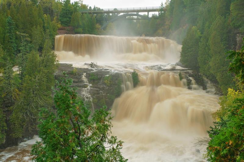 High Water Gooseberry Falls 001