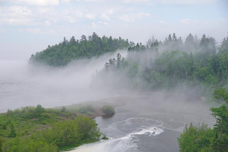 Beaver River in the Fog