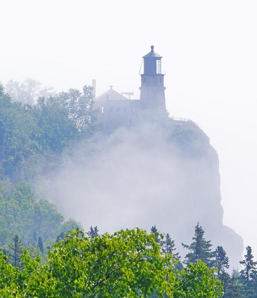 Split Rock Lighthouse in the Fog