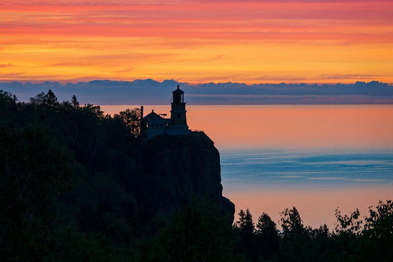 September Sunrise Split Rock Lighthouse State Park 001