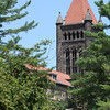 "<b>Altgeld Hall—21 June 2010</b>  Completed in 1897 as the University Library, this U of I landmark was renamed Altgeld Hall in 1941. It housed the College of Law from '27-'55. The North entrance still bears the title ""Law Building."" My honey spent many classroom hours here, as it has been home to the Mathematics Department since 1956."