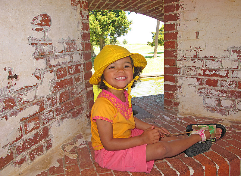Fort Pulaski<br /> <br /> Addie loved exploring Fort Pulaski just outside of Skidaway Island State Park. It was one of the first forts to fall to the Union Troops during the Civil War.