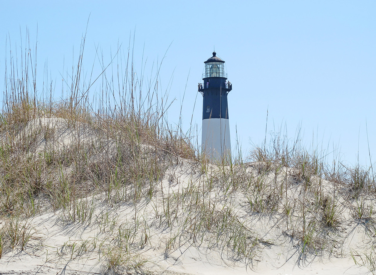 Tybee Island Light<br /> <br /> We also climbed the Tybee Island Lighthouse.