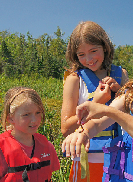 Mosquito Creek 3<br /> <br /> Not many kids will touch a leech but they had a blast.