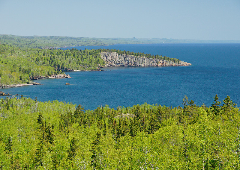 Tettegouche State Park 002<br /> <br /> The view was especially beautiful on this trip as Lake Superior was about as blue as I have ever seen it.