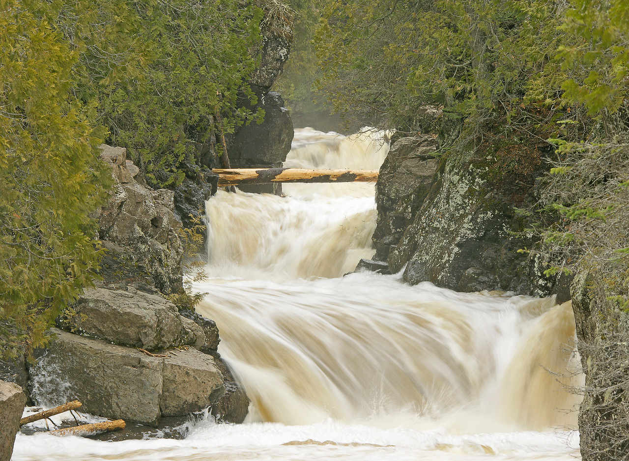 The Cascades Cascade River State Park<br /> <br /> I visited Cascade River and Grand Portage State Parks this week.