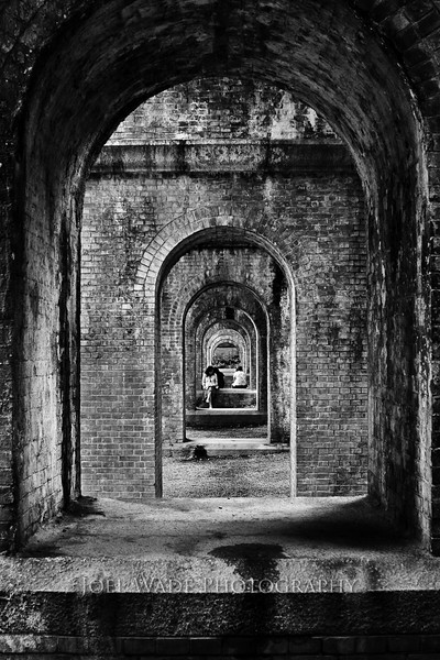 Arches - Kyoto<br /> <br /> Symmetry can be a beautiful thing.  Off to Japan next week for work- a gorgeous country I've only had the pleasure of visiting once.  Definitely hoping to return with a few new cool shots.<br /> <br />  ISO 100, 28mm, f/7.1, 1/13 second exposure.