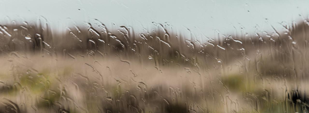 Rain on the Window    Moclips, WA