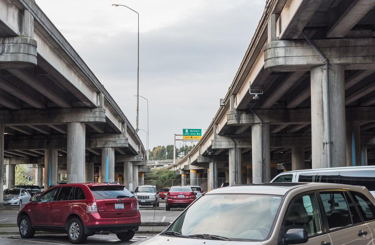 Highway on Columns