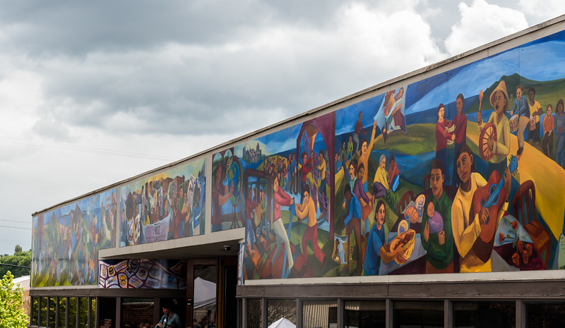Dedication of Mural on WSLC Building  Seattle