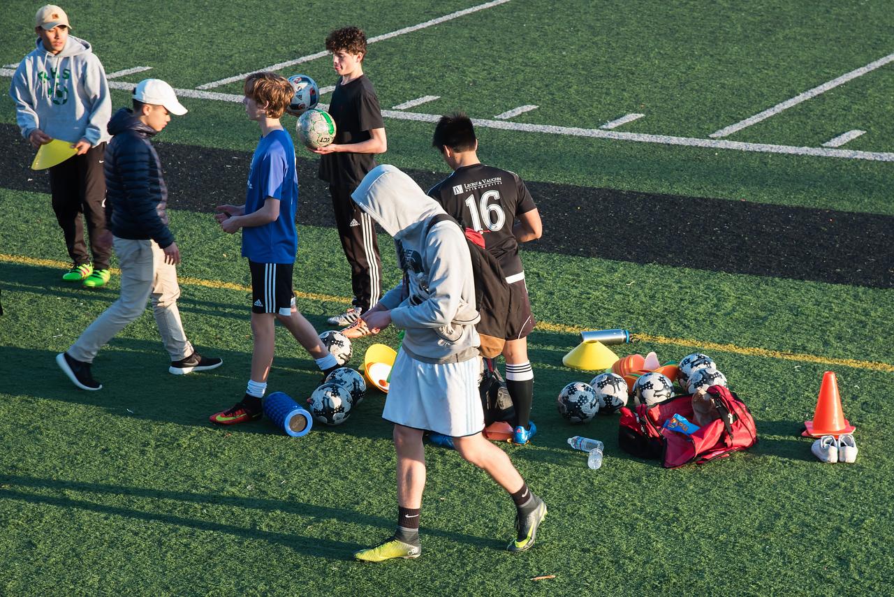 Soccer (Futbal) Practice is over
