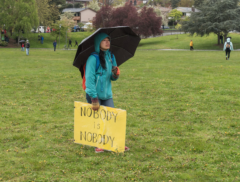 May Day Rally  Judkins Park Seattle