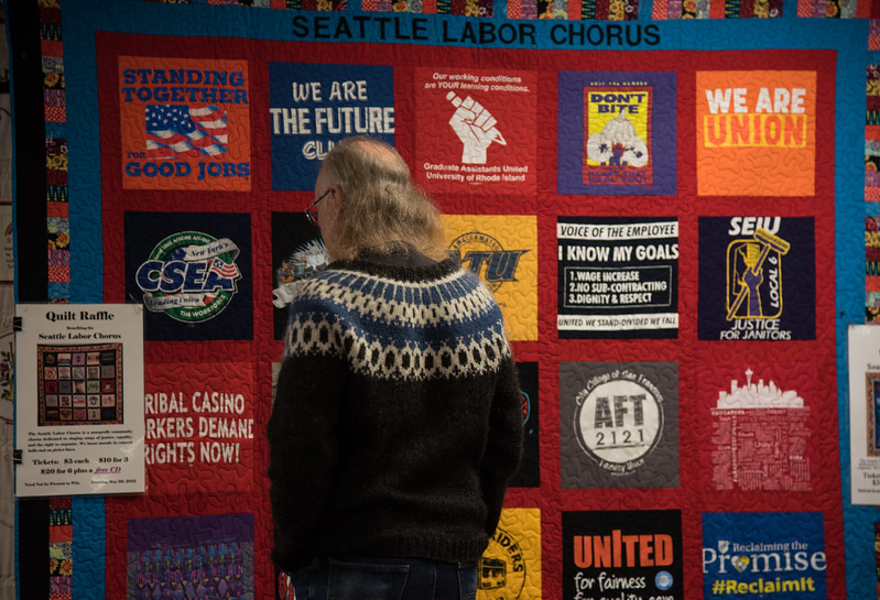 Seattle Labor Chorus   Quilt Raffle