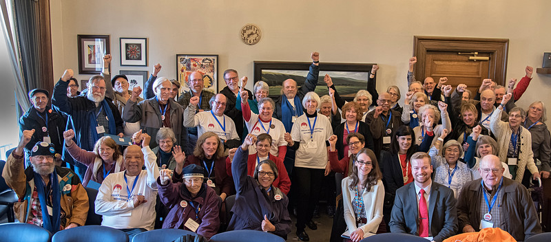 PSARA at Senior Lobby Day in Olympia