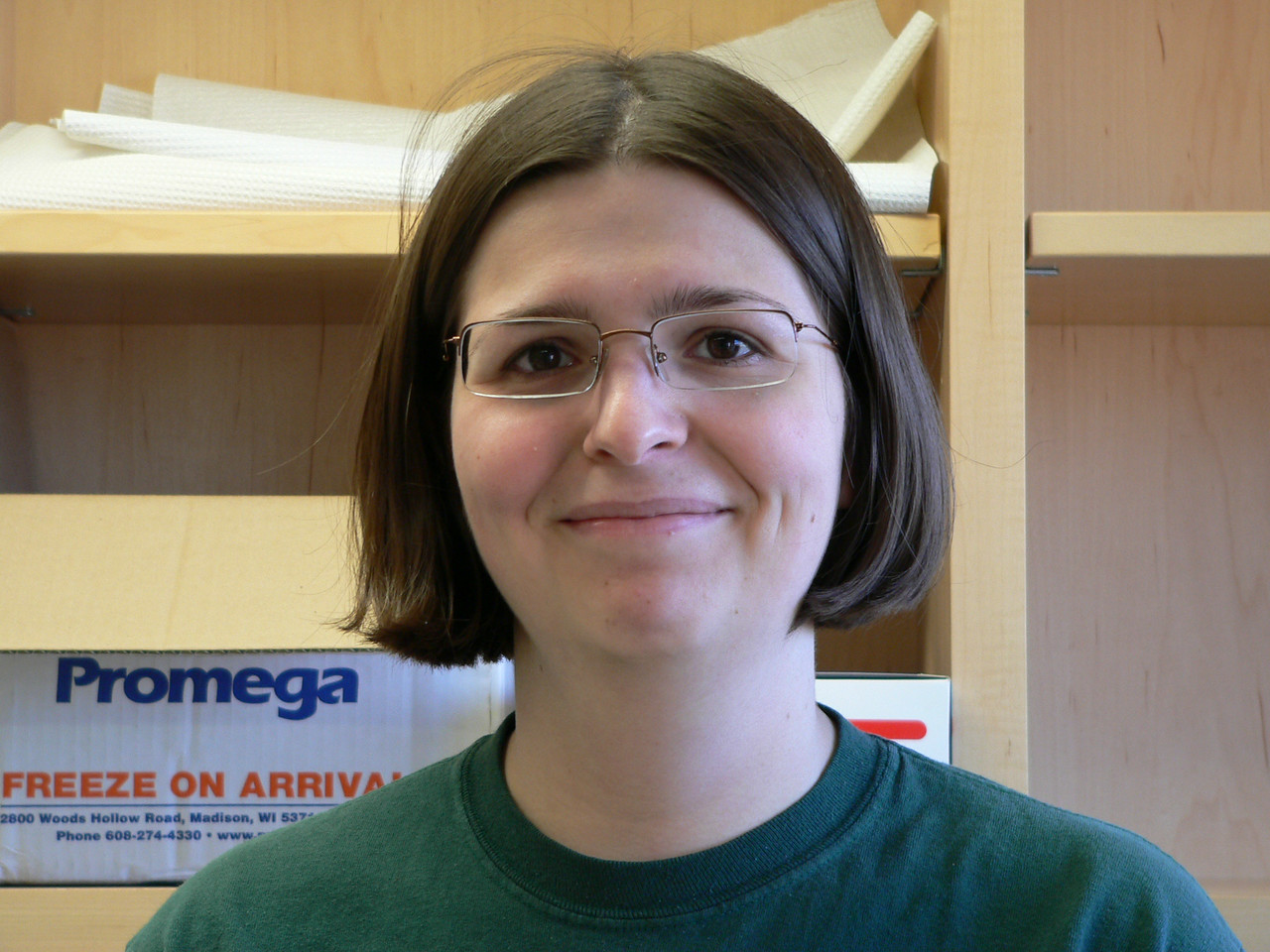Janet - a rotation student in our lab. Very bright and a good friend.