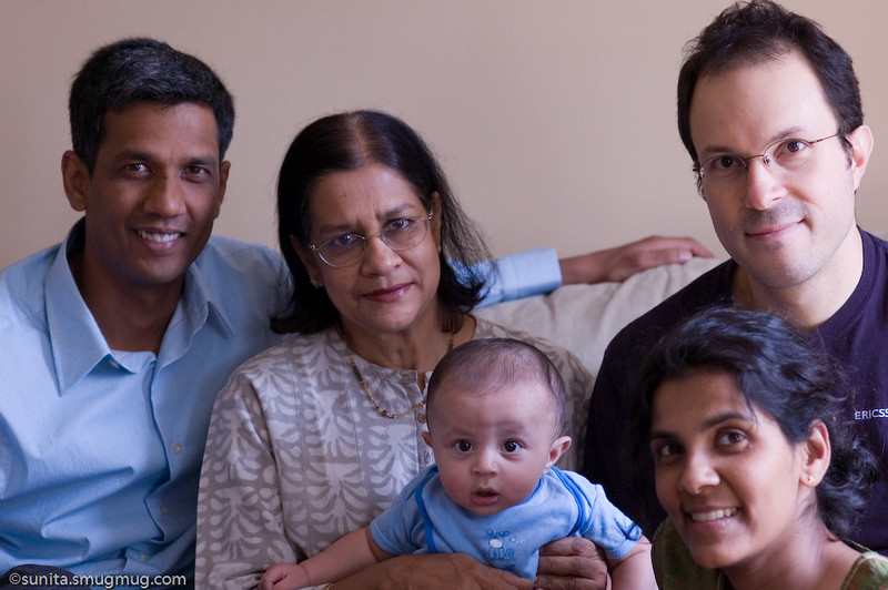 August 18 2008 <br /> <br /> Family photo (yikes! and I'm in there too...) <br /> <br /> p.s.: Thanks, Bindu!